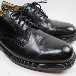 Florsheim Mens Black Dress Cap toe Shoes Size 11.5